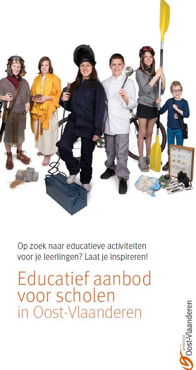 cover folder educatief aanbod voor scholen