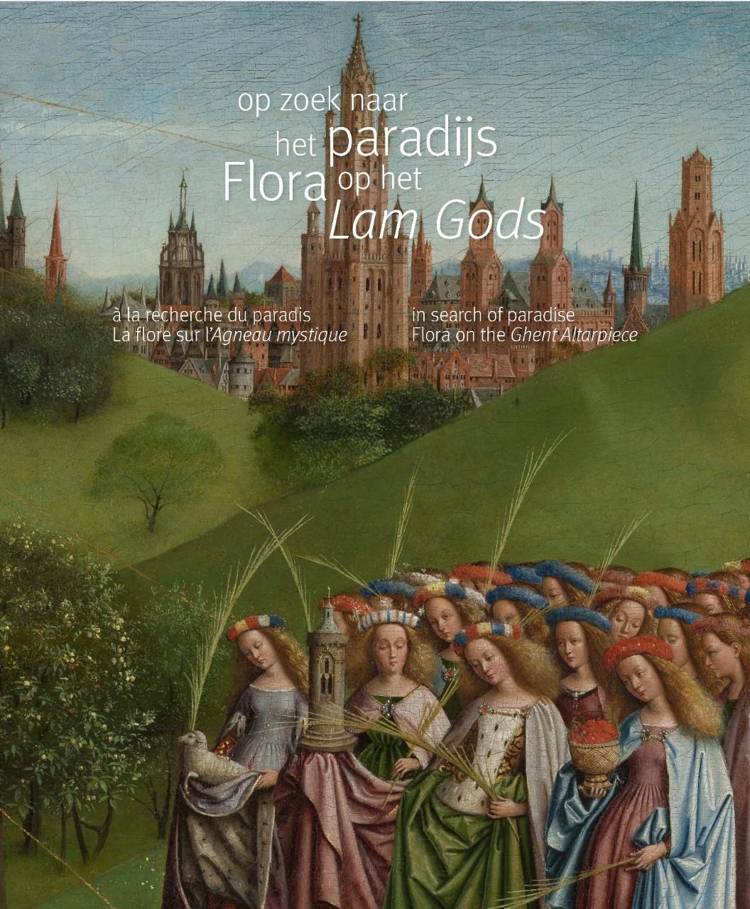 cover boek een wonderbaarlijke tuin flora op het lam gods