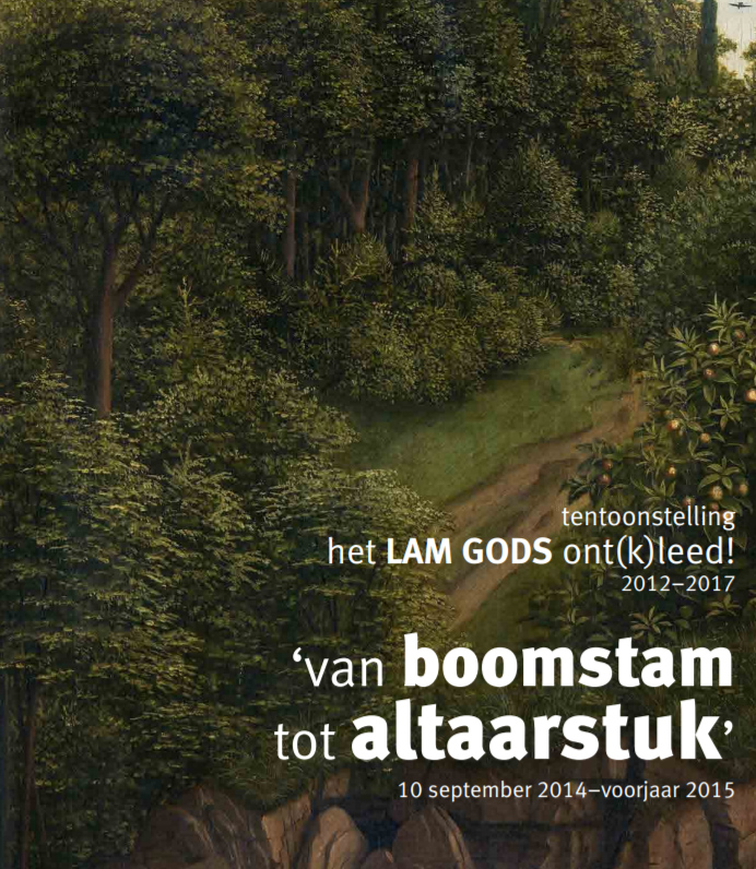 cover boek van boomstam tot altaarstuk