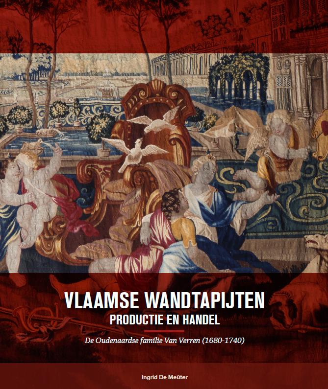 cover Boek Vlaamse wandtapijten