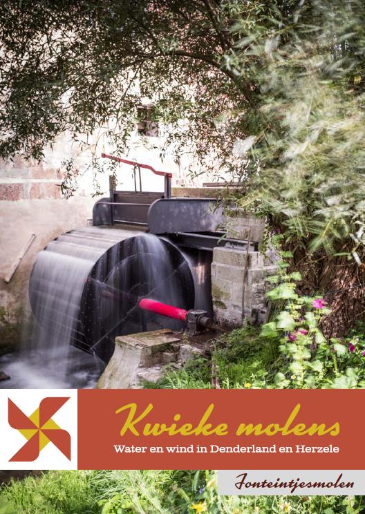 Brochure kwieke molens: fonteintjesmolen