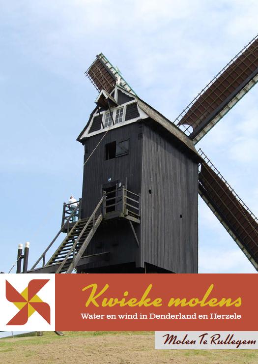 cover brochure kwieke molens: molen te rullegem