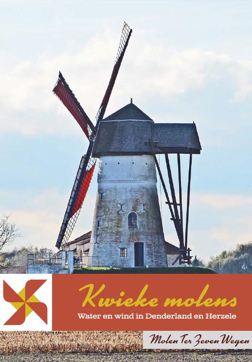 cover brochure kwieke molens: molen ter zeven wegen