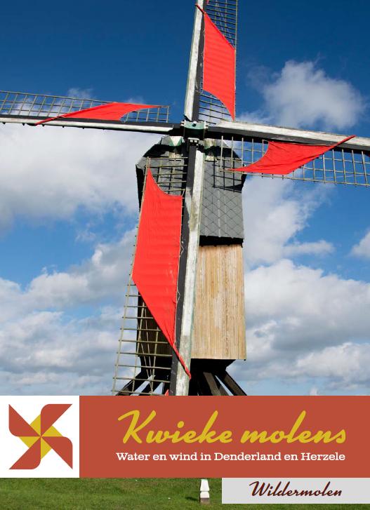 cover brochure kwieke molens: wildermolen