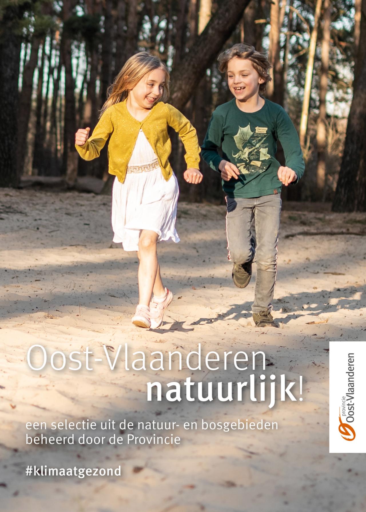 Covernfoto van brochure Oost-Vlaanderen natuurlijk!