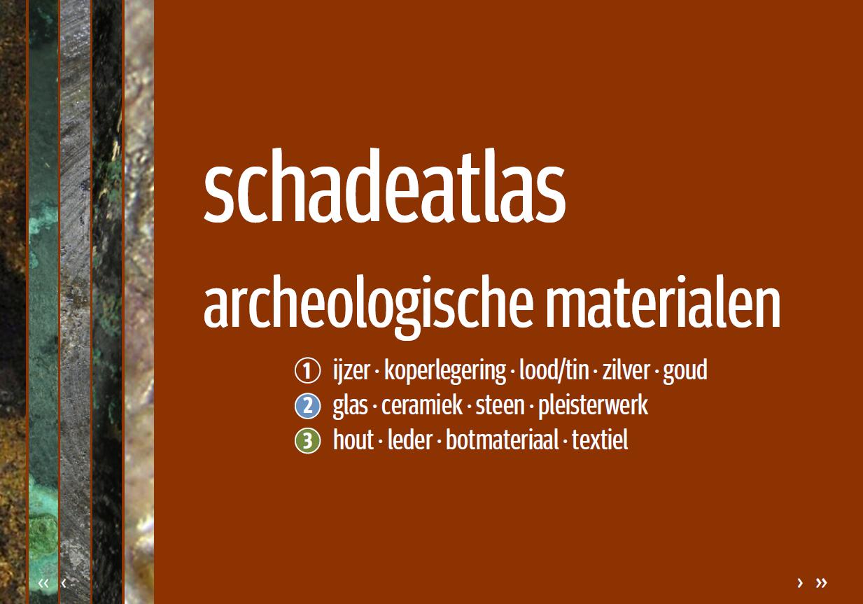 cover schadeatlas voor archeologische vondsten