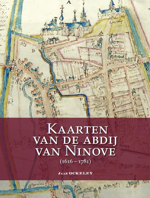 cover boek Kaarten van de abdij van Ninove