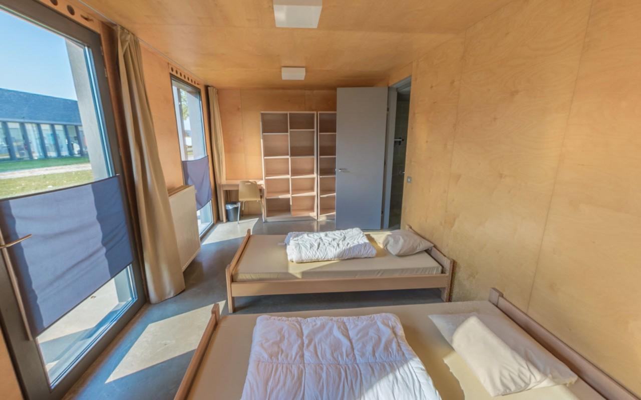 slaapkamer in het weekendverblijf