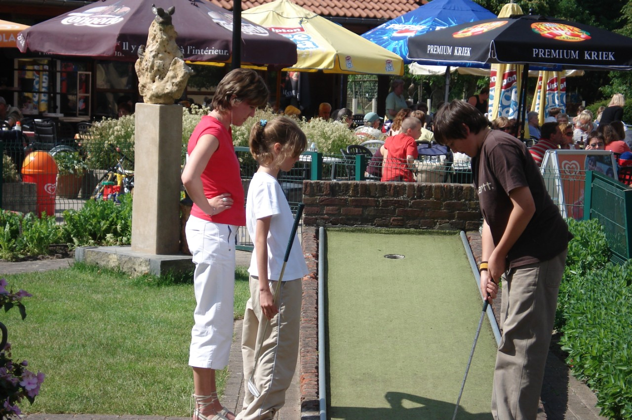 minigolfen in de brielmeersen