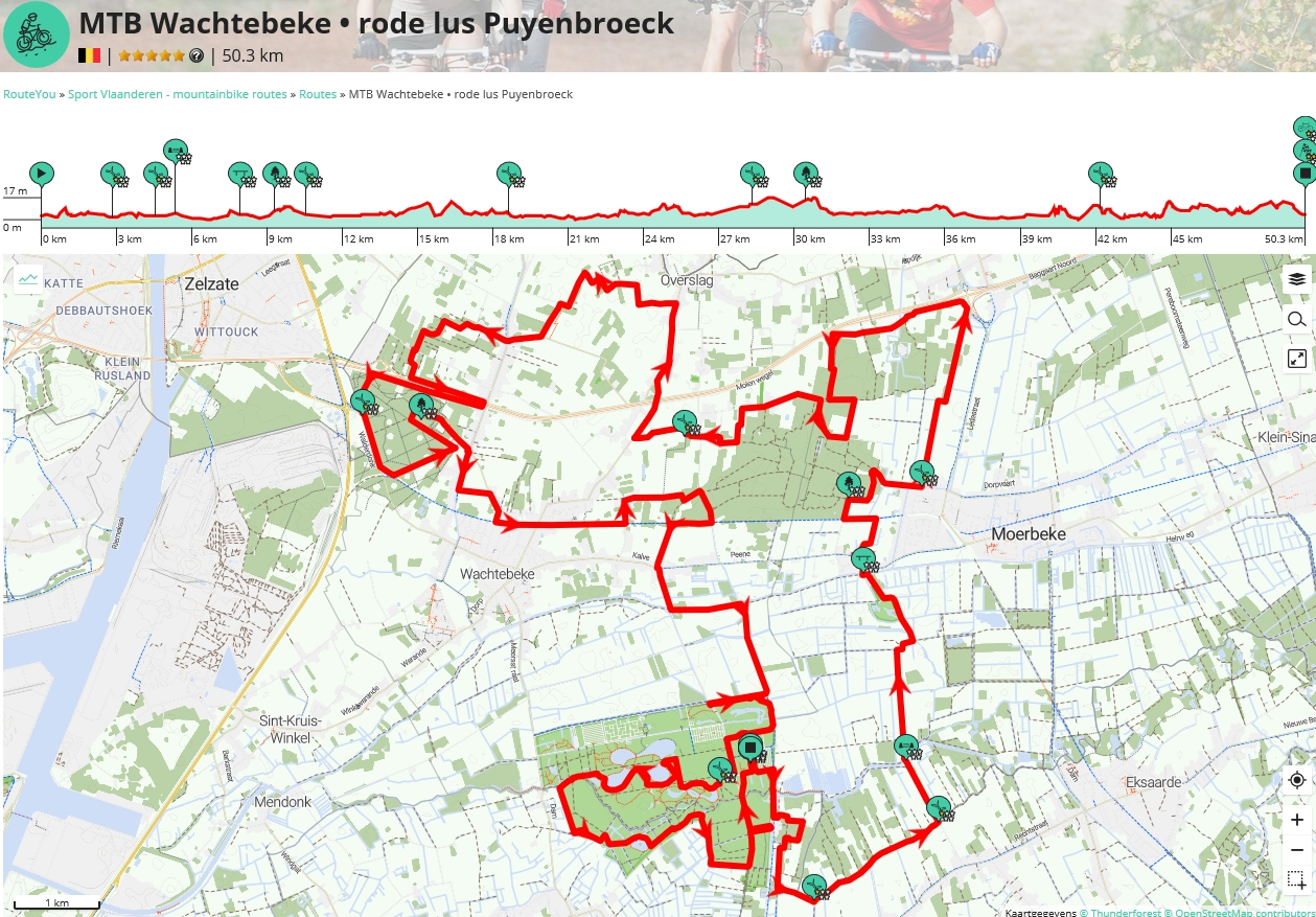 Rode lus: 44 km