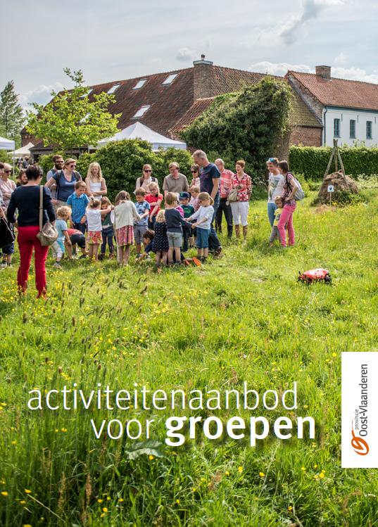 Brochure activiteitenaanbod voor groepen
