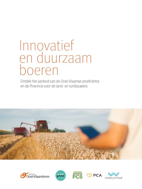 cover brochure innovatief en duurzaam boeren
