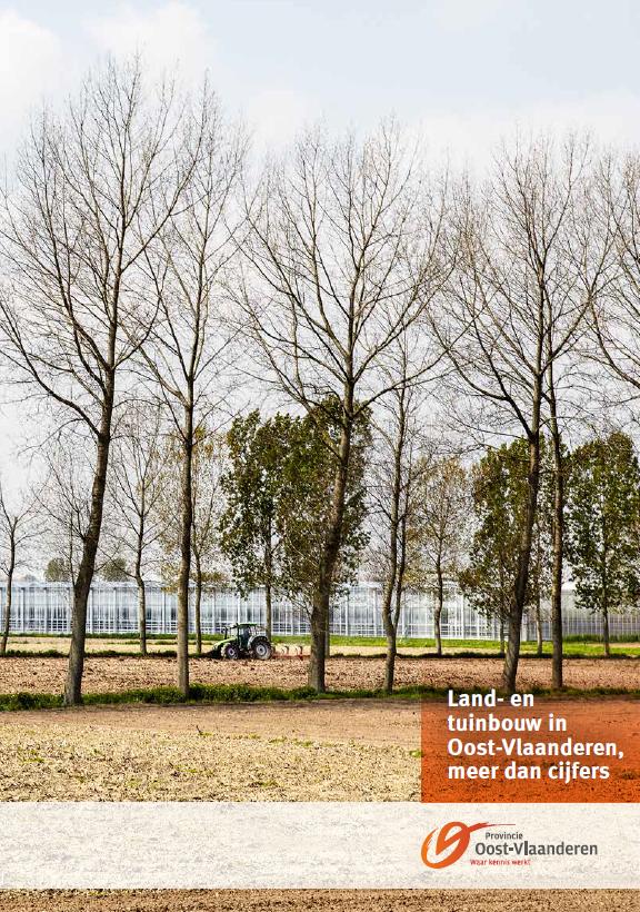 cover Brochure land-en tuinbouw in Oost-Vlaanderen meer dan cijfers