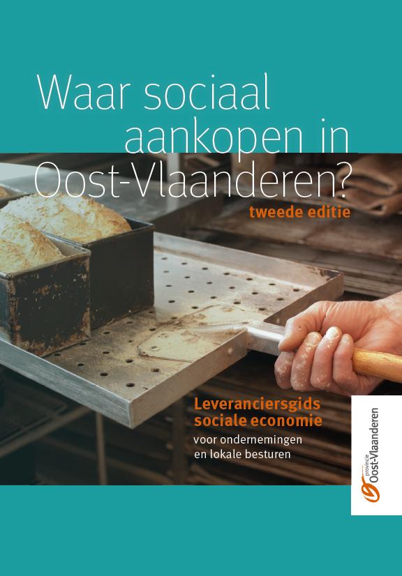 cover Brochure leveranciersgids sociale economie
