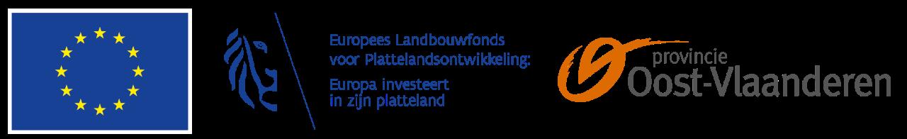 Logobanner EU, Vlaamse overheid, Provincie Oost-Vlaanderen
