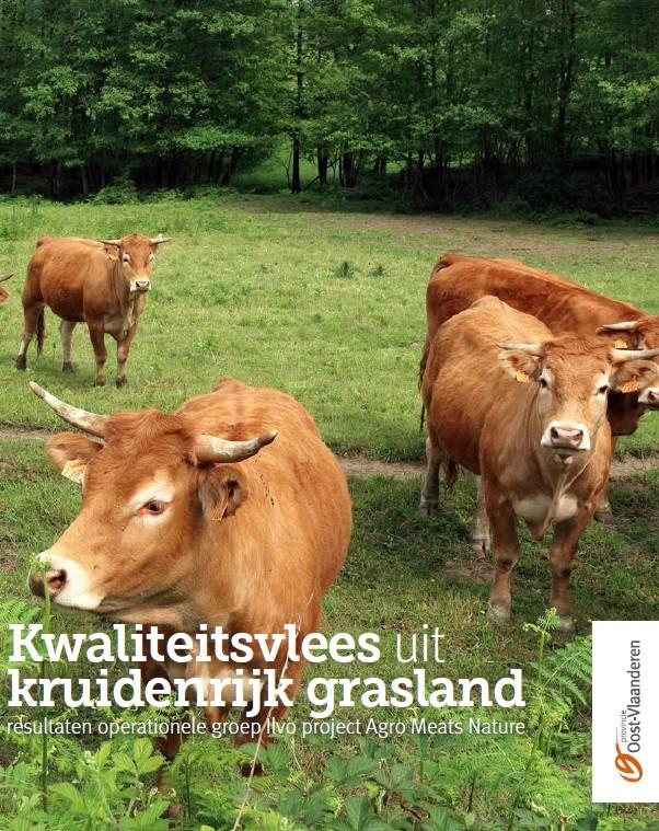 Brochure Kwaliteitsvlees uit kruidenrijk grasland