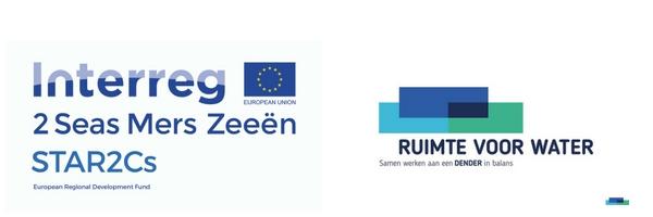 Logo Interreg Star2C's - Ruimte voor water