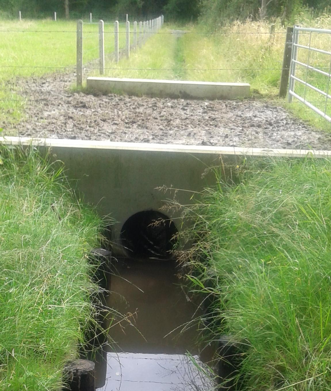 Machtiging voor werken aan provinciale waterloop